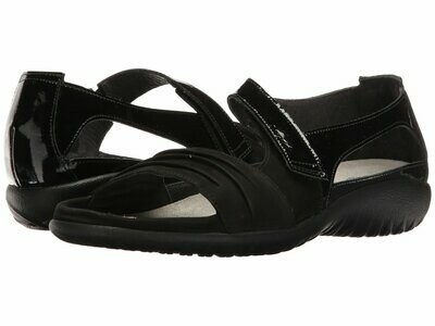 Papaki Black on Black Naot Sandal