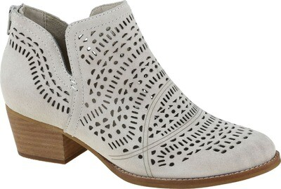 Wonder Cream Suede Boot