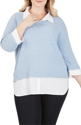 Miles 2 Fer Azul Sweater