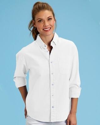 ALSOXFD Oxford Shirt White