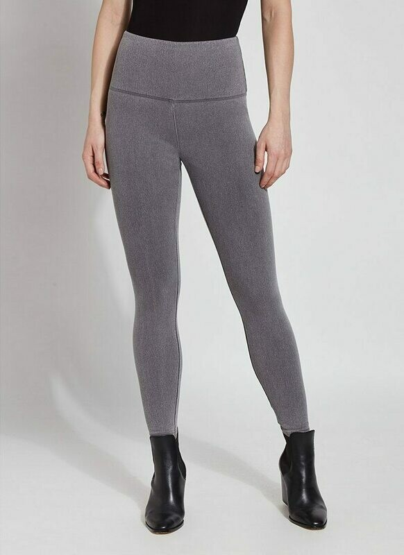 106175 Denim Legging Mid Grey