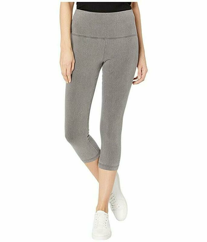 116173  Denim Capri Mid Grey