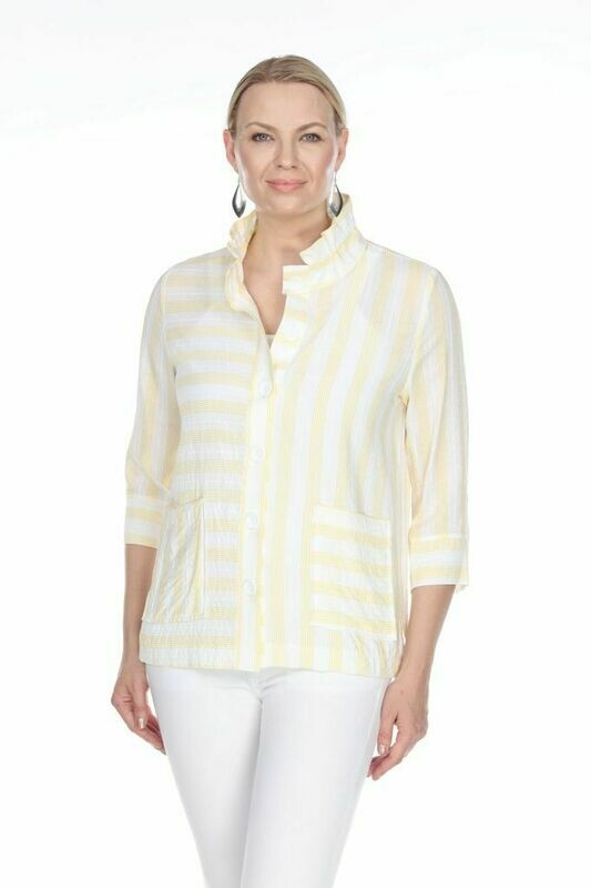 T4316 Yellow Blouse