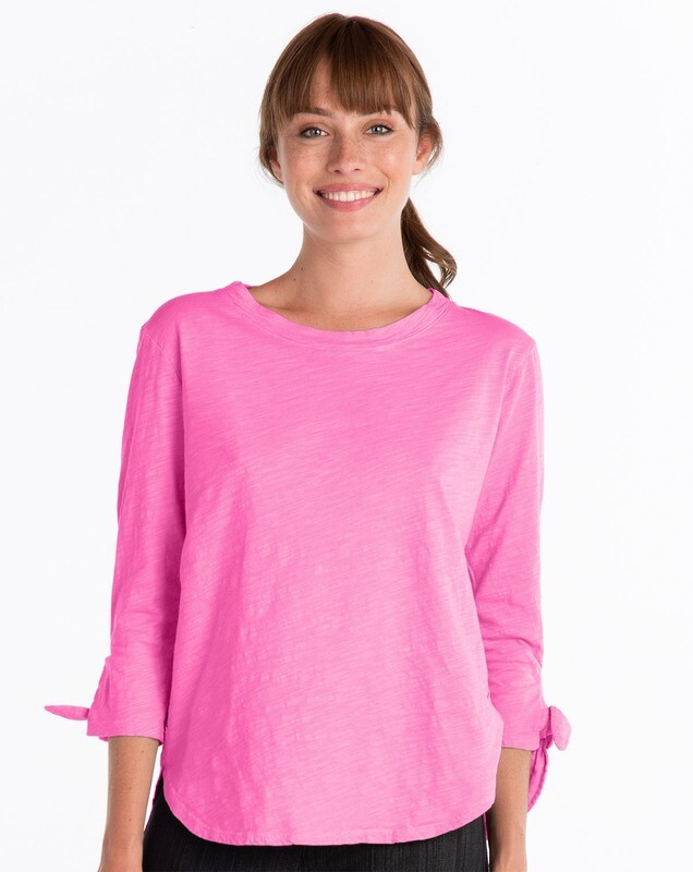 ATHTIPD Catalina Tie Sleeve in Flamingo