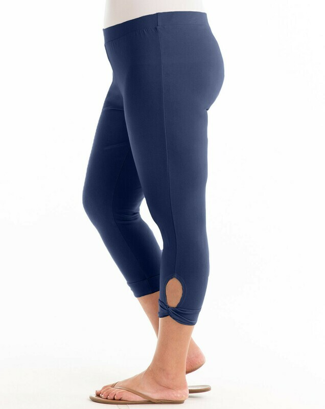 ECPSNPD Plus Sanibel Capri Legging in Moonlight