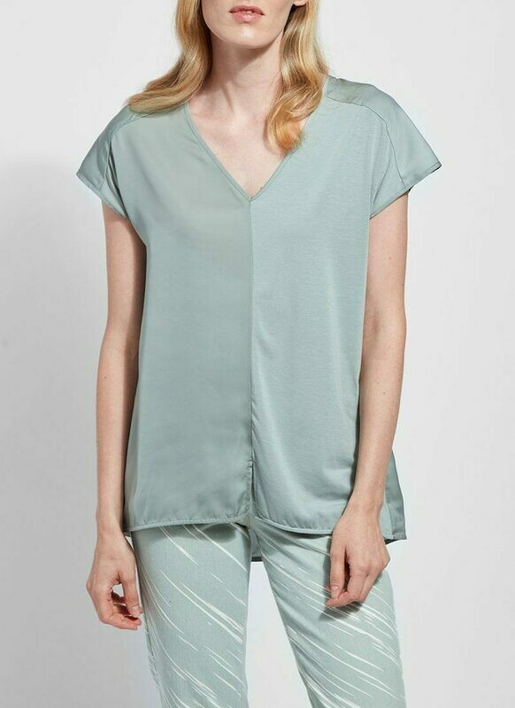 2428 Martha Sleeveless Top in Sage