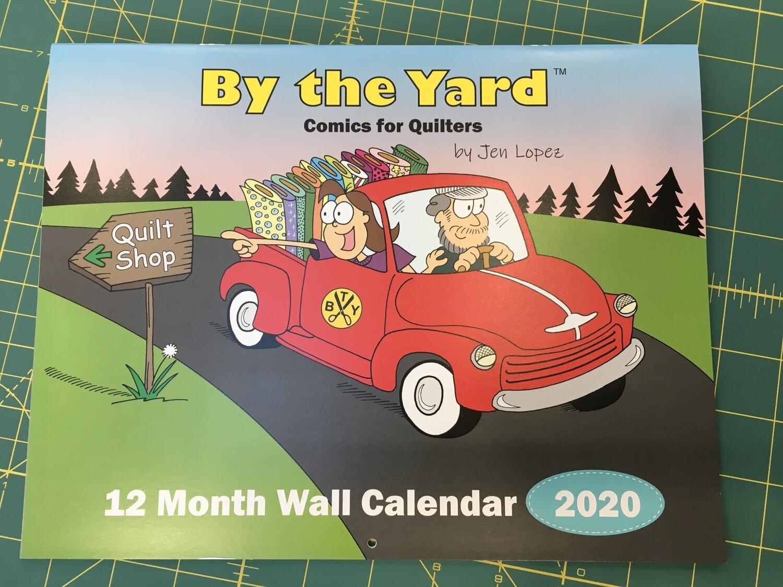 Calendar By the Yard