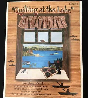 Quilting at the Lake pattern