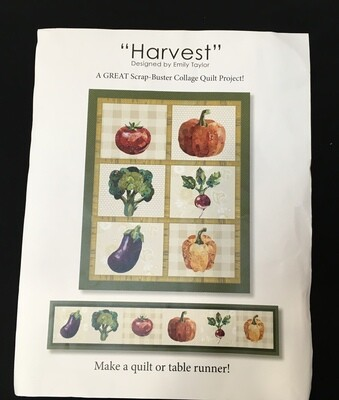 Harvest Collage Quilt pattern