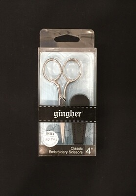 Gingher-G4 emb scissors