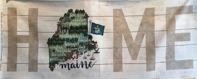 My Home State MAINE panel