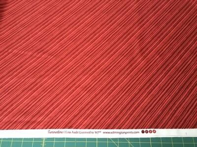 Summertime red stripe