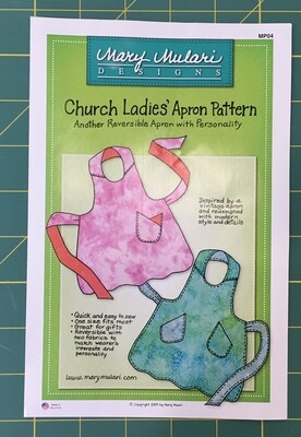 Church Lady Apron Pattern