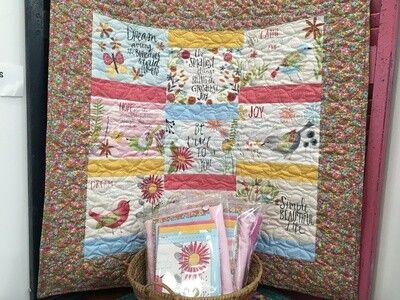 Inspirations Baby Quilt Kit