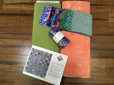 Square in Square Quilt kit