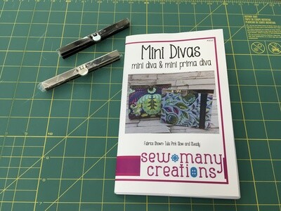 Mini diva wallet frame gunmetal