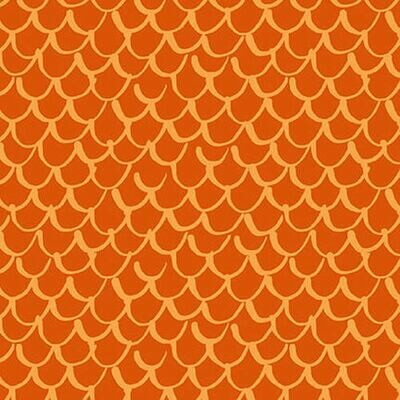 Points of Hue Scallop orange