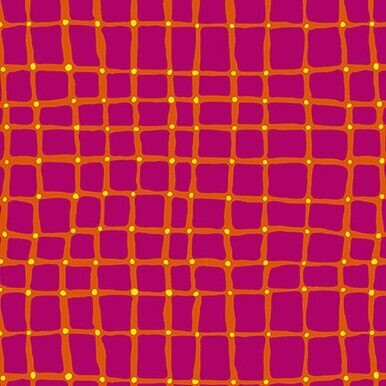 Points of Hue squares dots pink