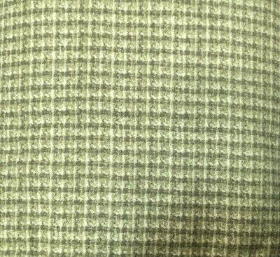 Woolies Flannel houndstooth green