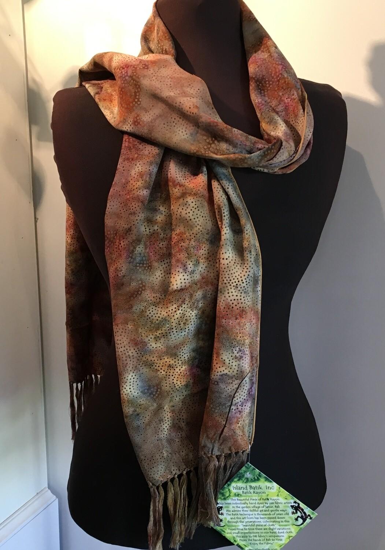 Batik scarf 17