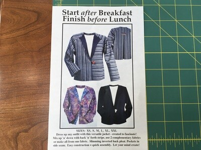 Start After Breakfast Jacket pattern