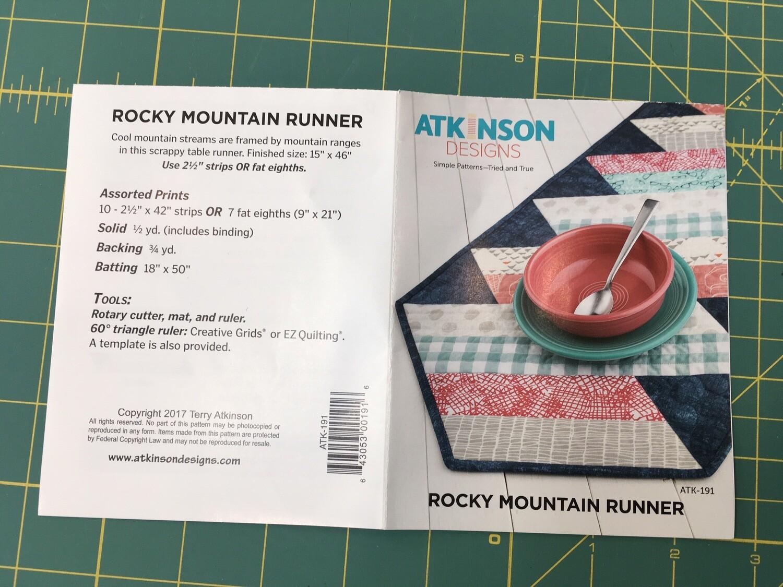 Rocky Mountain Runner Pattern