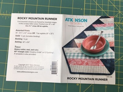 Rocky Mountain Runner Pattern