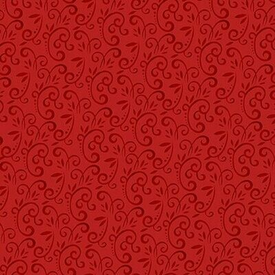 Snow Place Like Home Red swirl