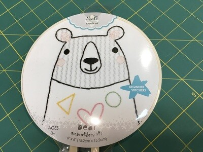 Embroidery Kit Bear
