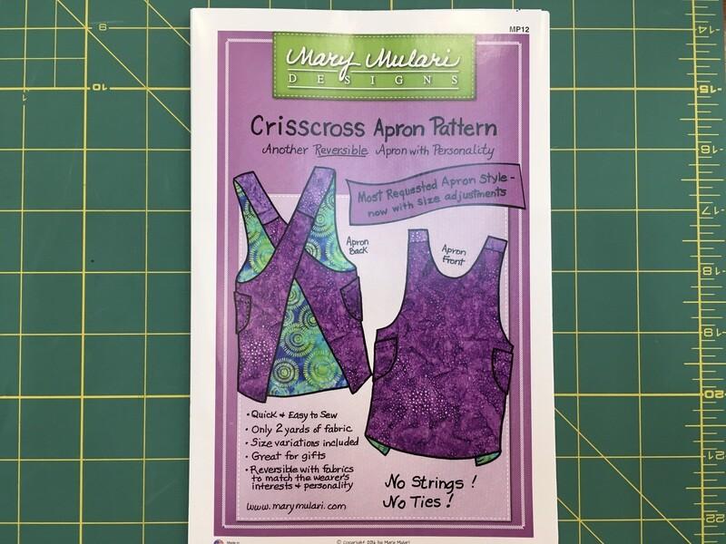 Criss Cross Apron Pattern