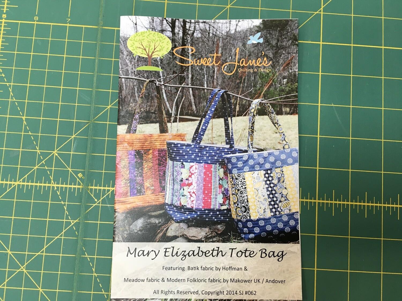Mary Elizabeth Tote pattern