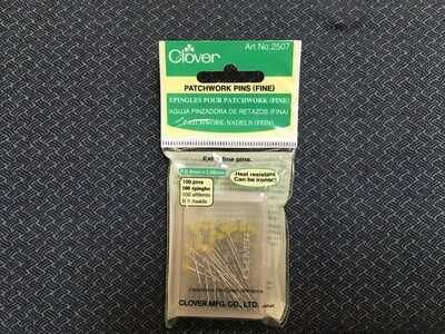 Patchwork pins fine clover 2507
