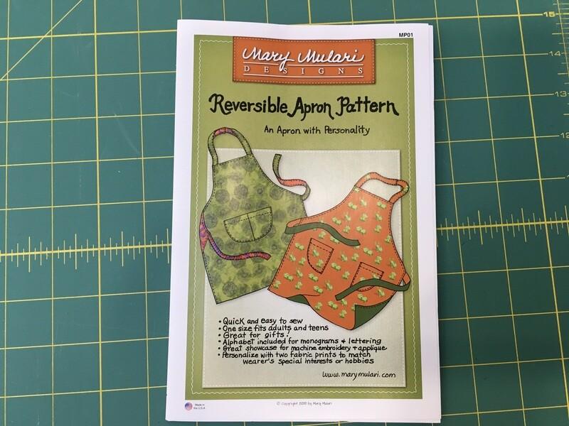 Reversible apron pattern