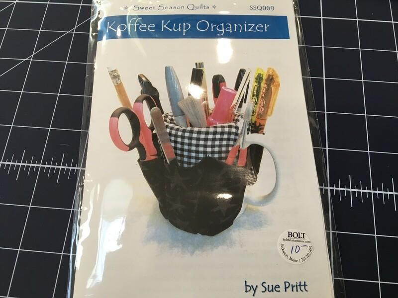 Koffee Kup Organizer pattern
