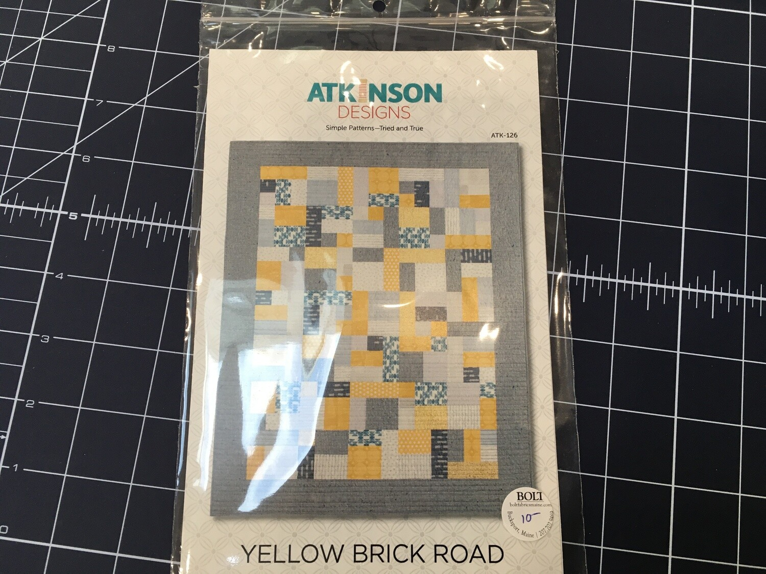 Yellow Brick Road Pattern