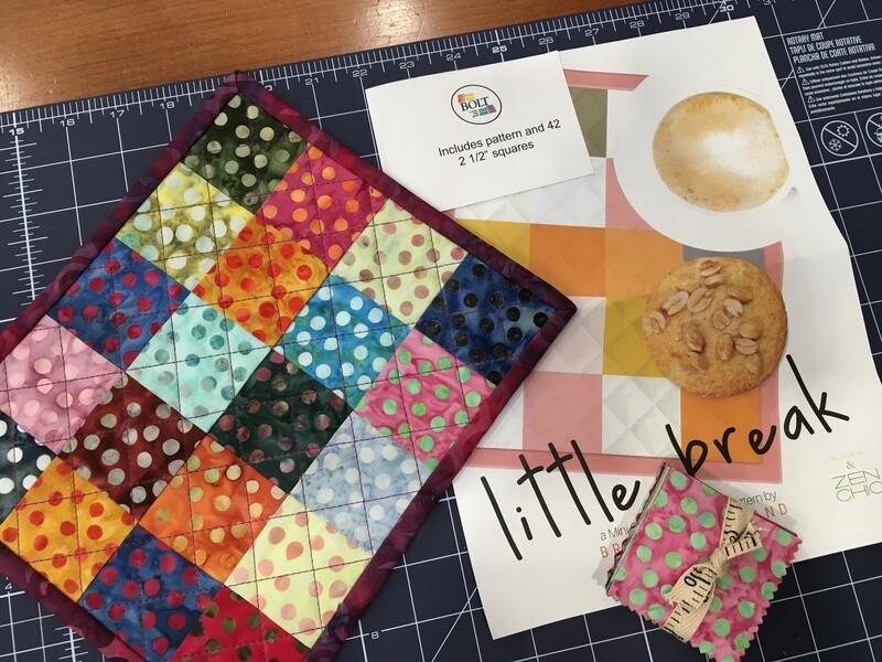 Little Break Mug mat kit