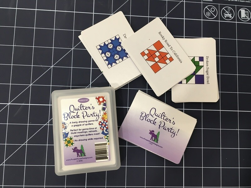 Quilters Block Party Card Game