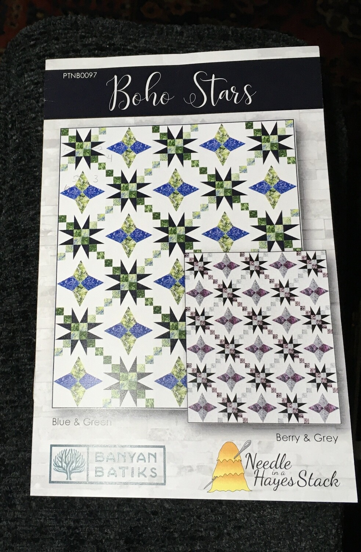 Boho Stars Pattern