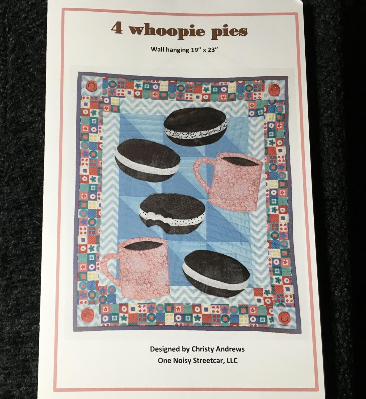 4 Whoopie Pies pattern