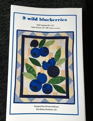 9 Wild Blueberries