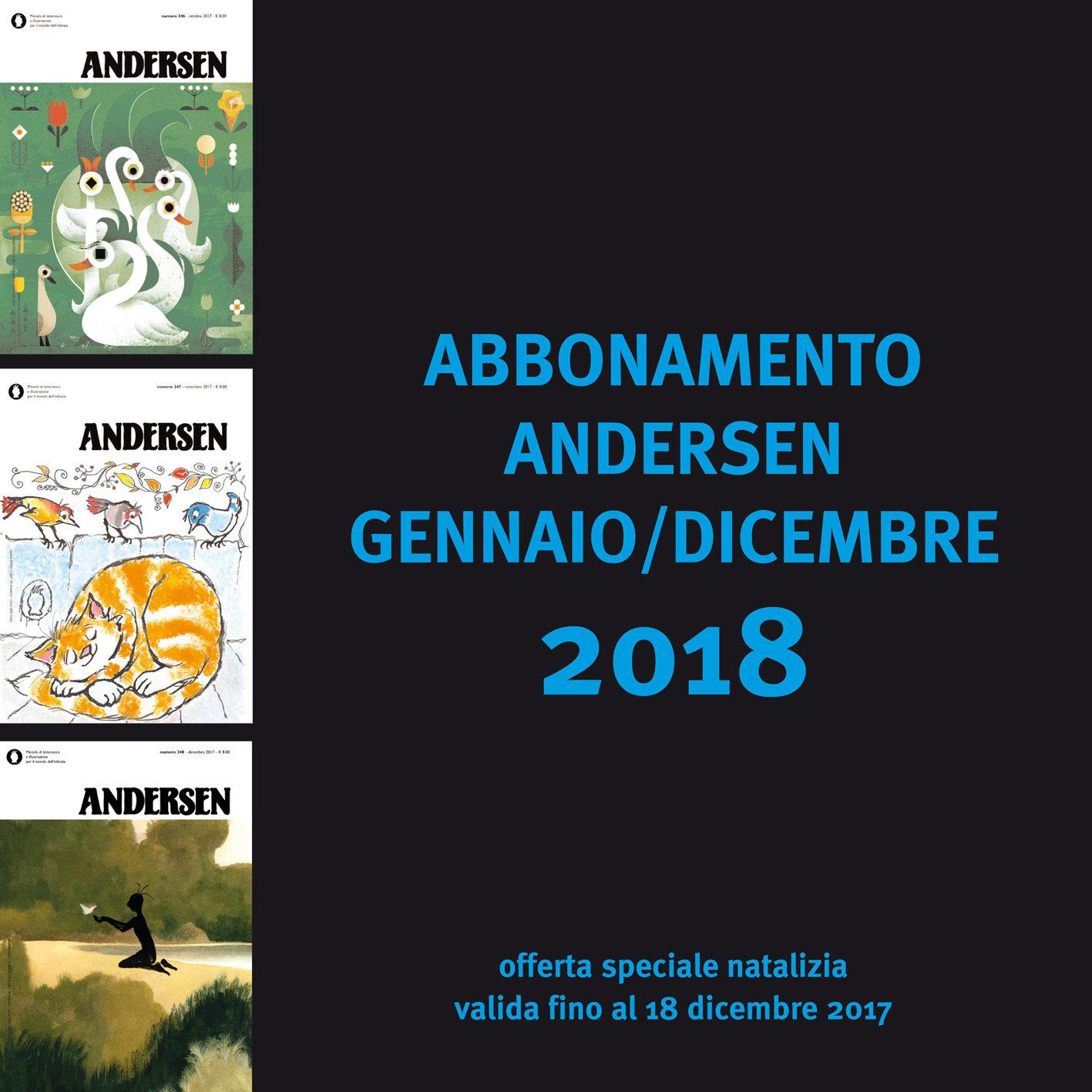 SPECIALE NATALE 2017 - 1 anno di Andersen + ultimi numeri (ITALIA) 000000