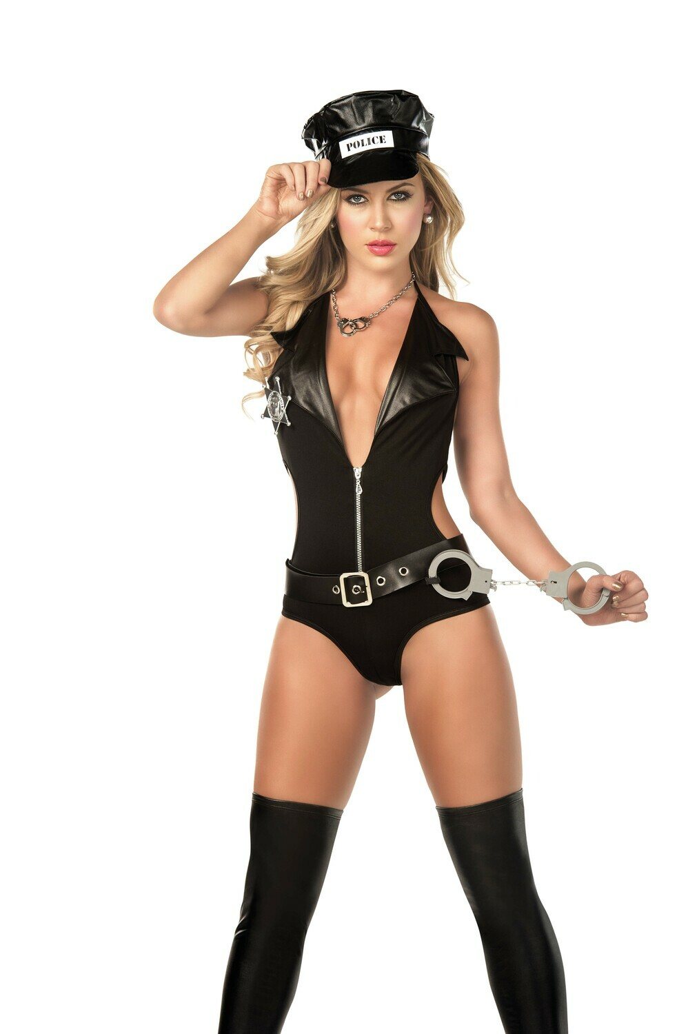 Adult police costume sexy cop uniform mens womens fancy dress stag hen party
