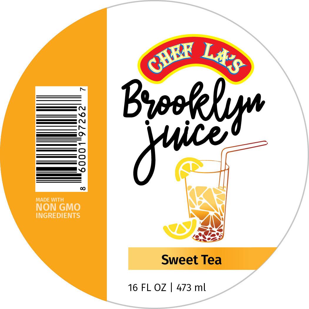 Chef La's Brooklyn Juice Sweet Tea - 16oz