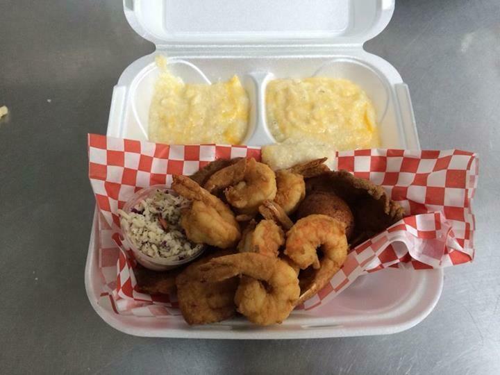 6pc Shrimp Basket w/Fritter