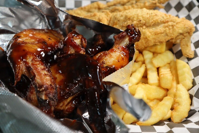 5pc Smoked Wing Dinner Special