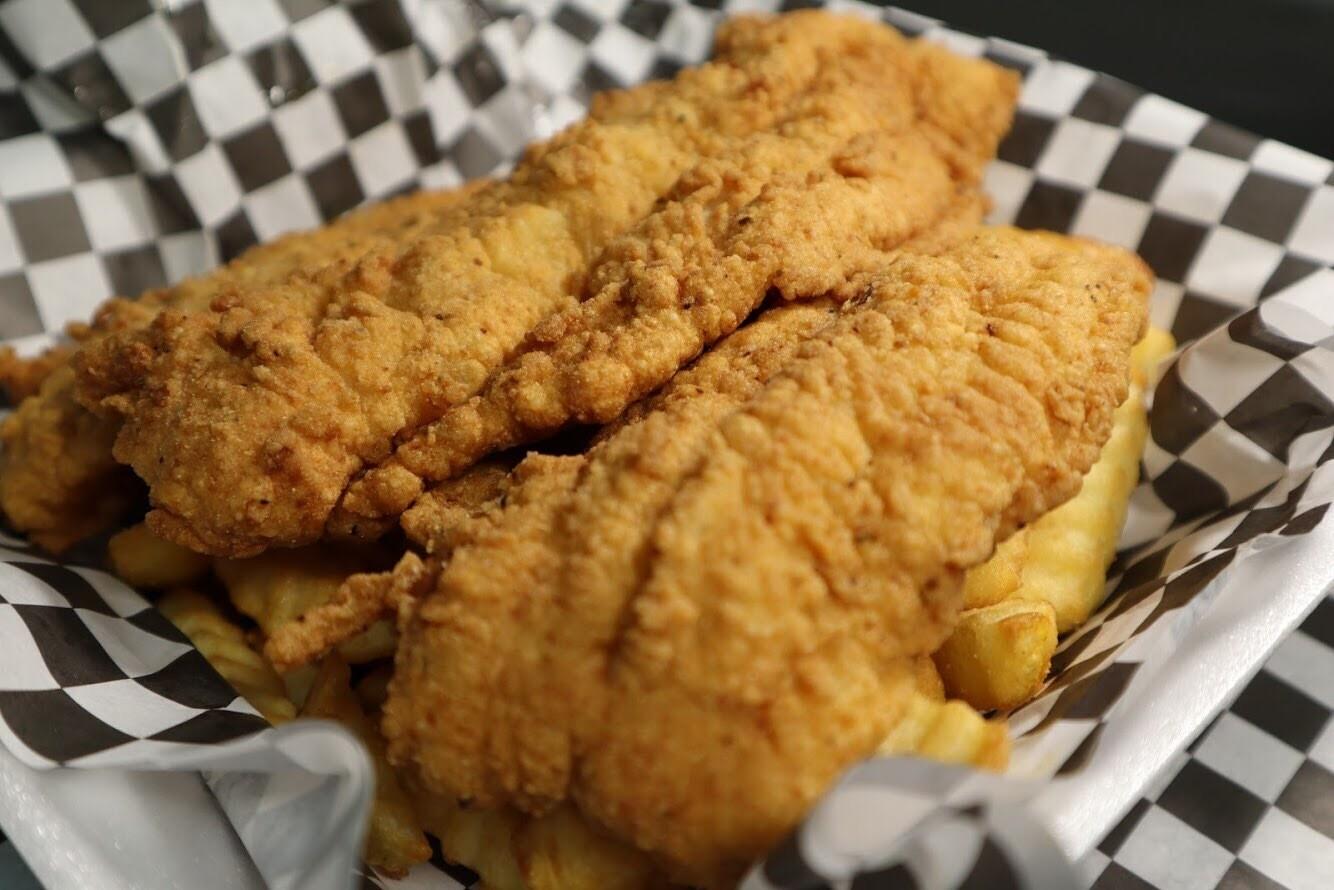 2pc Fish Basket - Catfish