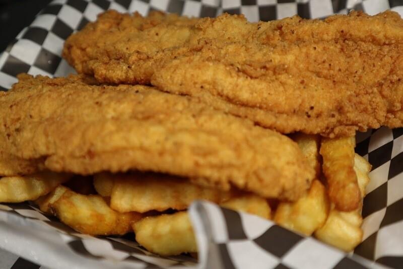 3pc Fish Basket - Catfish