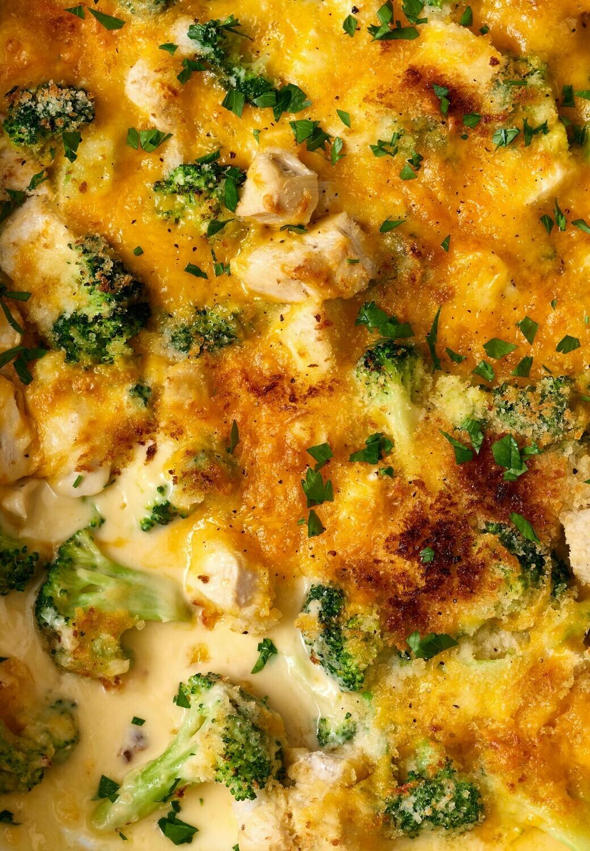 Chicken Broccoli Casserole - Family