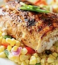 Grilled Mahi Mahi Dinner