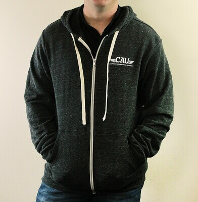 Canvas Fleece Zip (CAU logo)